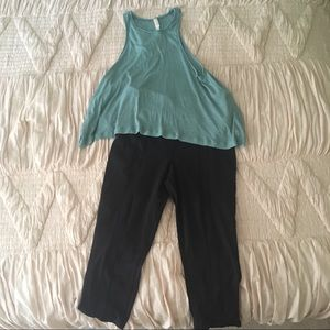 Free People movement outfit